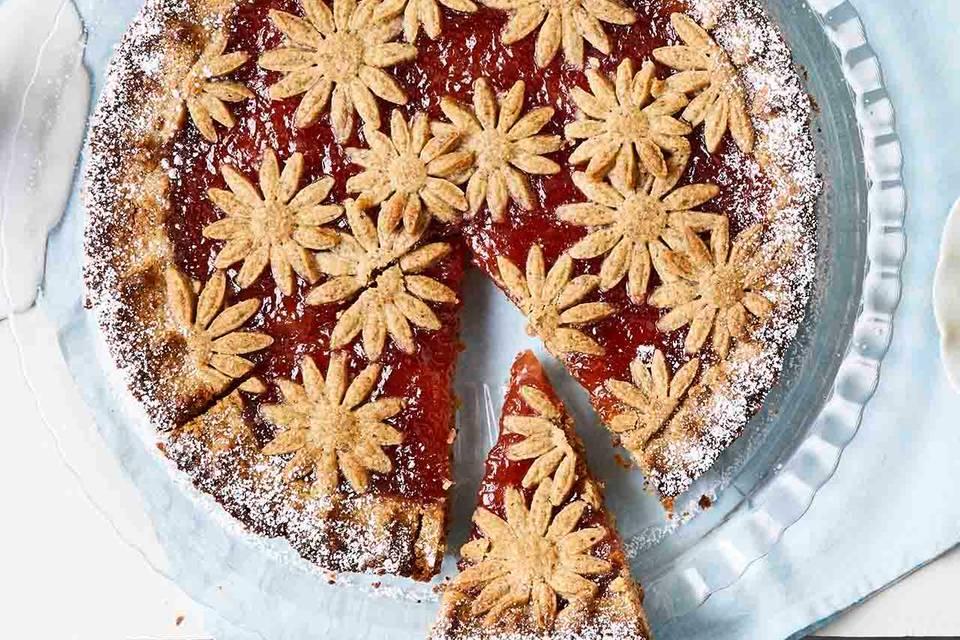Frühlings-Linzer-Torte Rezept