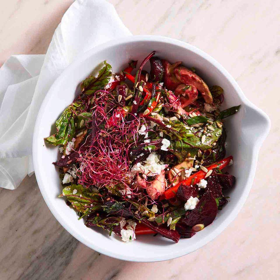 Rote-Bete-Salat mit Avocado