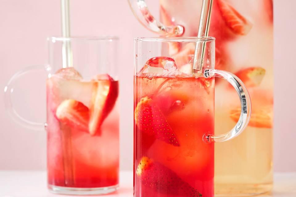 Erdbeer-Eistee Rezept