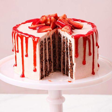 Erdbeer-Schoko-Torte mit Buttercreme