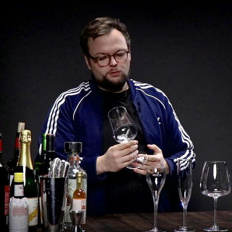 Benedikt Ernst spricht über Weingläser