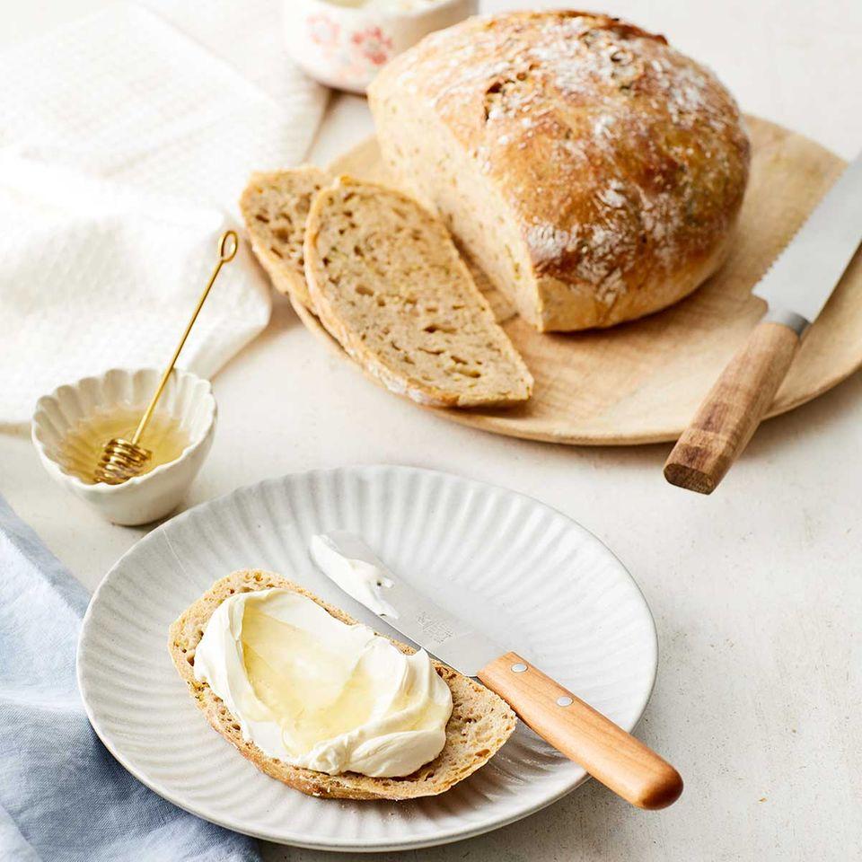 """Zucchini-Brot """"ohne Kneten"""""""