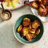 Quetschkartoffeln mit Sesam