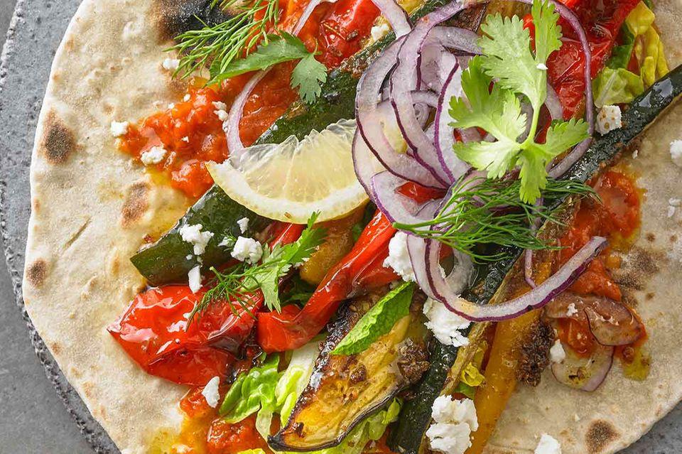 Gemüse-Shawarma