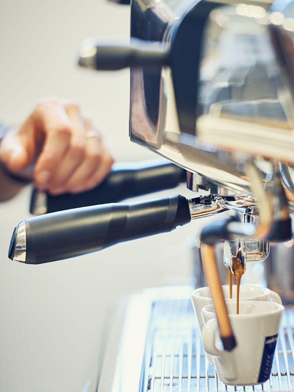 Espresso aus der Siebträgermaschine