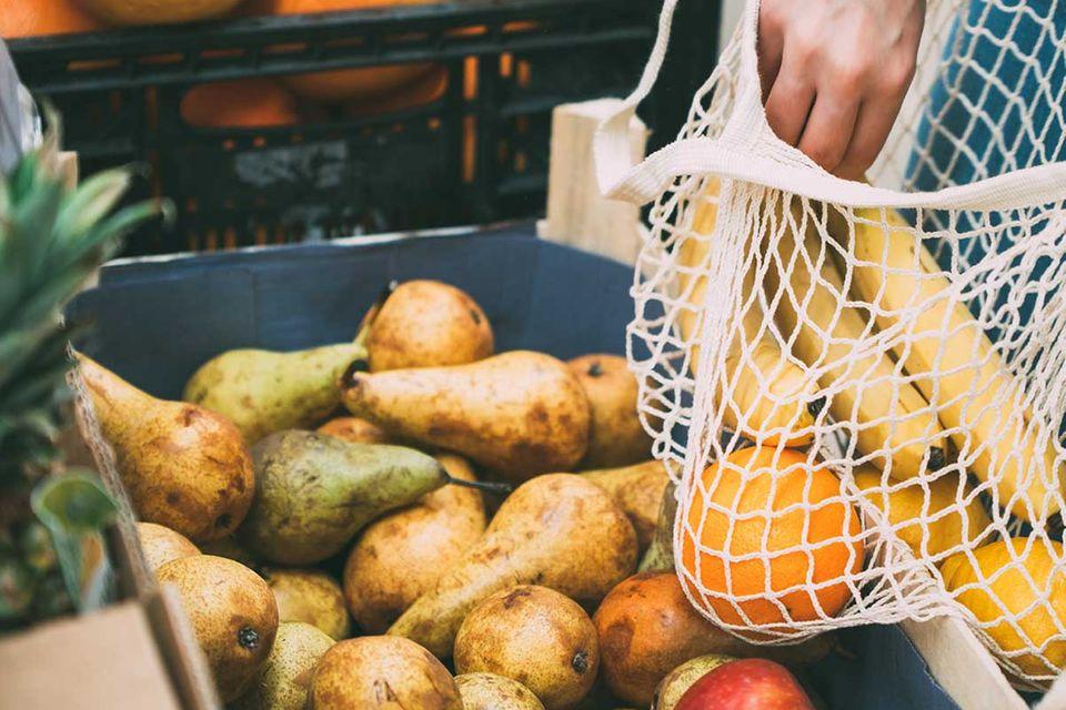 Zero Waste: nachhaltig Obst und Gemüse kaufen