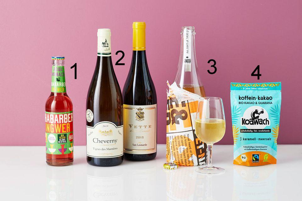 Bens Beste Weinflaschen im August