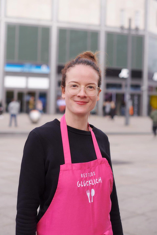 Hanna Legleitner Geschäftsleiterin des Vereins RESTLOS GLÜCKLICH
