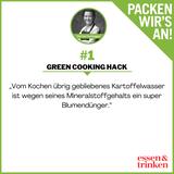 Nachhaltigkeit. Green Cooking. Tipp