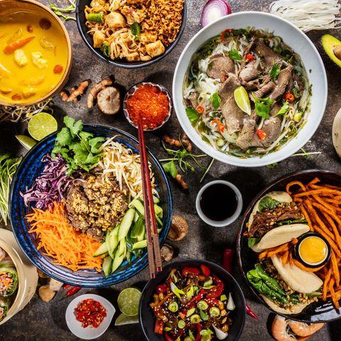 Asiatische Bowls