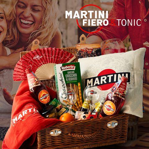 Gewinnspiel: Gewinnen Sie Ihr MARTINI Fiero & Tonic Paket im Wert von je 200€!