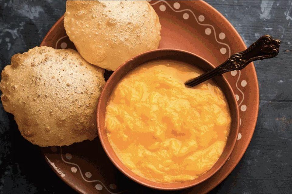 Im Restaurant Maharaja Bhog werden die Gerichte auf traditionelle Weise und nach alten Familienrezepten zubereitet.