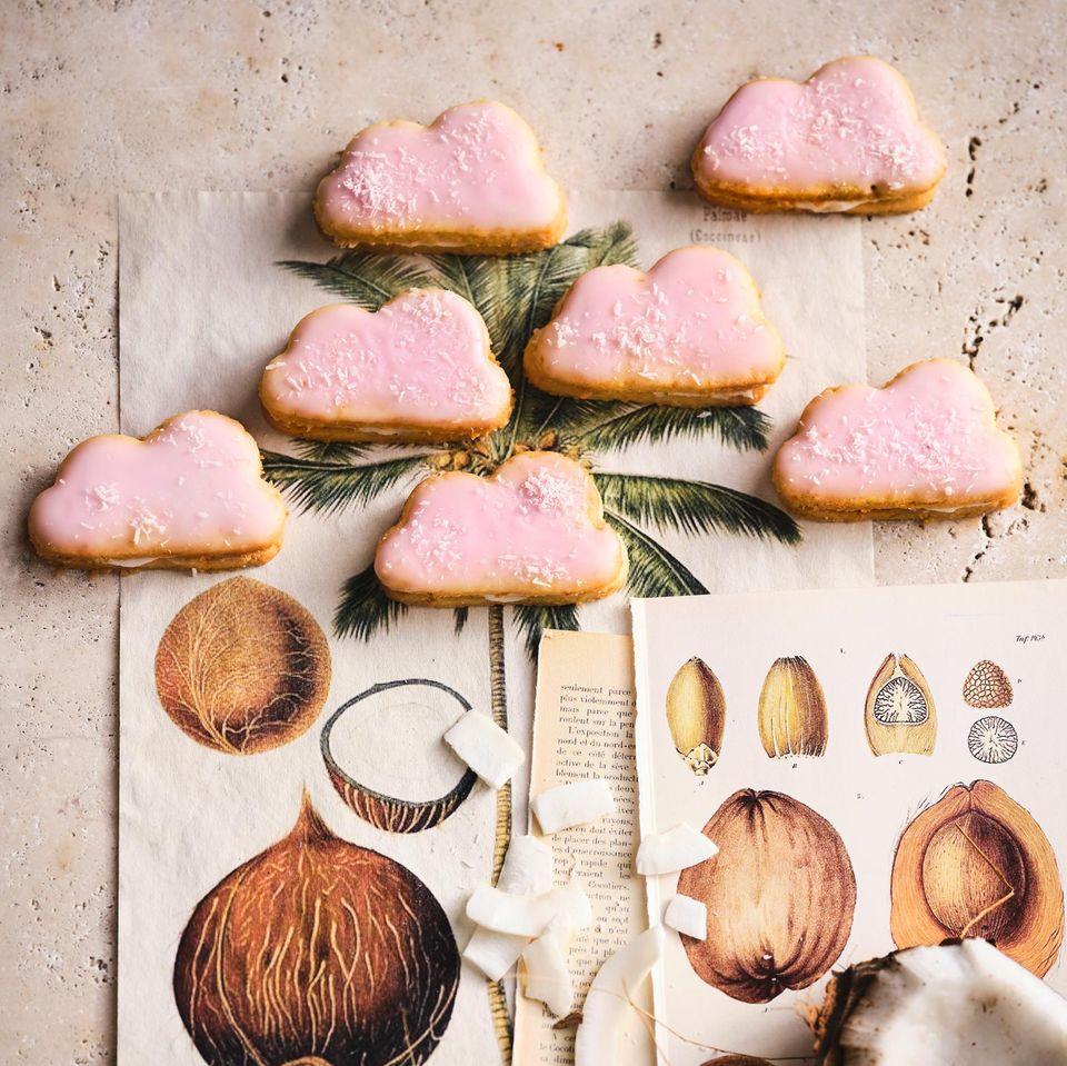 Kokos-Limetten-Wölkchen