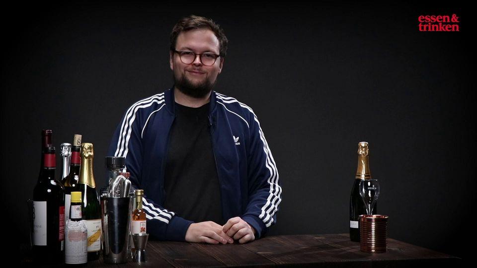 Standbild Benedikt Ernst Champagner