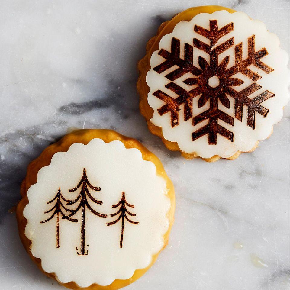 Ingwer-Stempel-Kekse