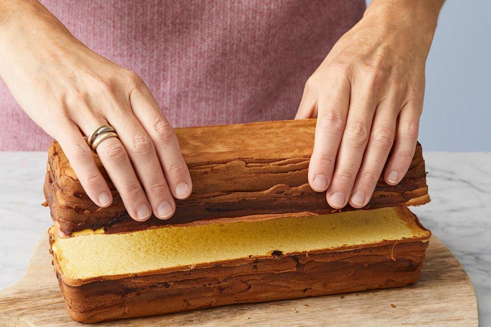 Schritt 4: Baumkuchen stapeln