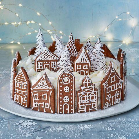 Orangen-Gingerbread-Torte