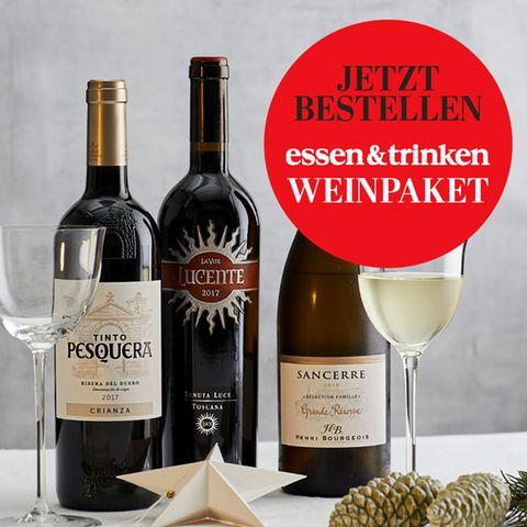 Weinpaket von essen & trinken