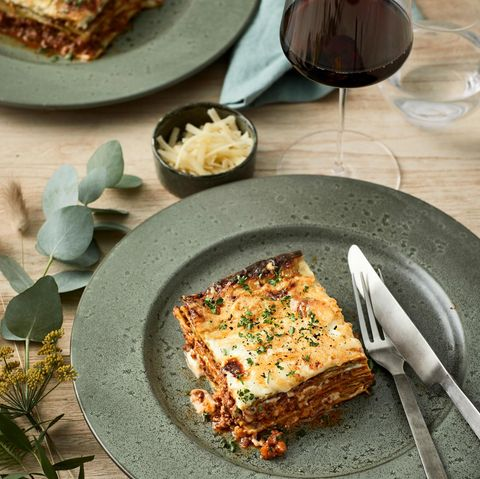 Lasagne mit Wild-Bolognese
