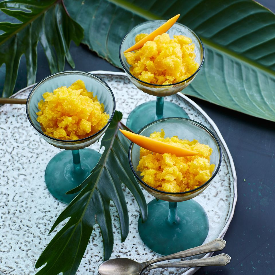 Yuzu-Mango-Granita