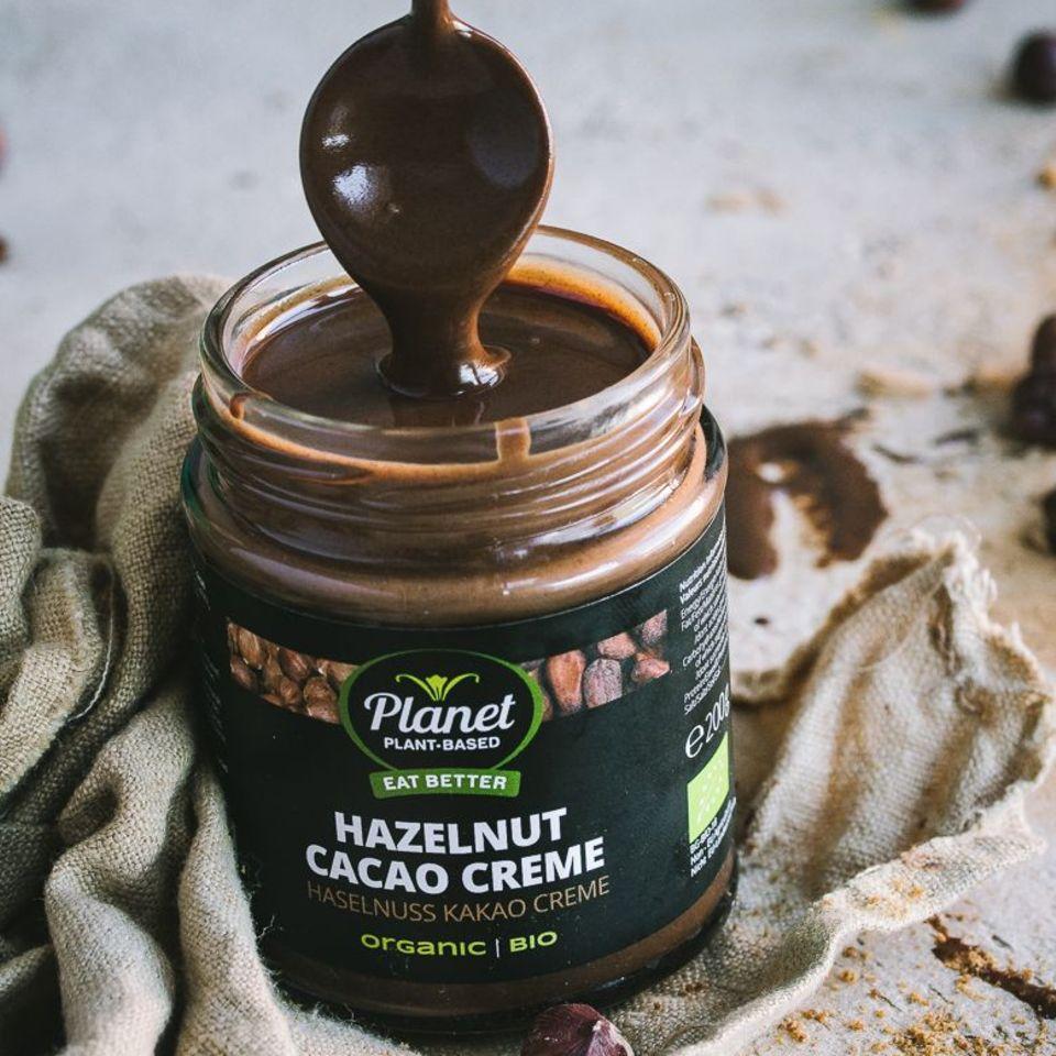 Haselnuss Kakao Creme von Planet Plant-Based