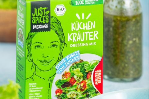 Just Spices Salat Dressing Küchenkräuter