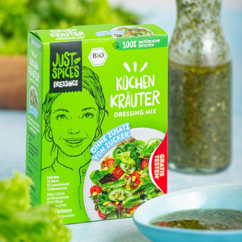 Just Spices Salat Dressing Küchenkräuter