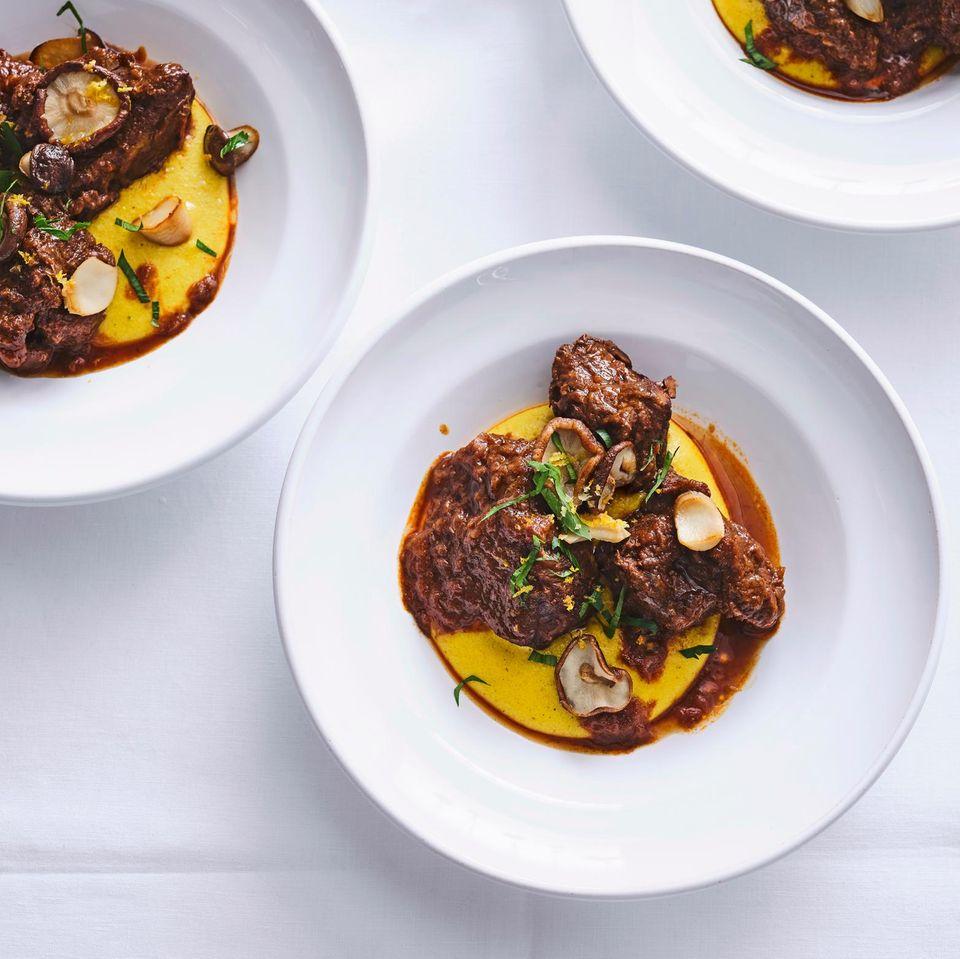 Curry-Polenta