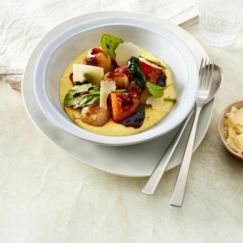 Polenta mit Balsamico-Gemüse