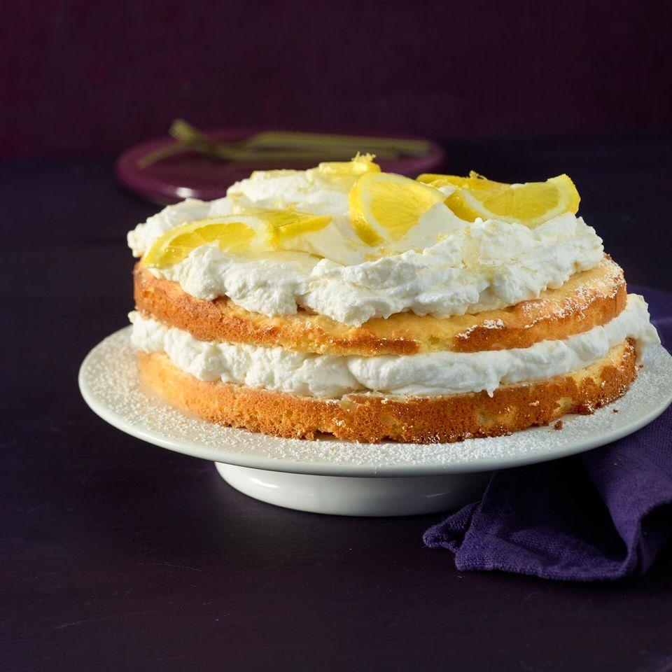 Zitronen-Creme-Torte