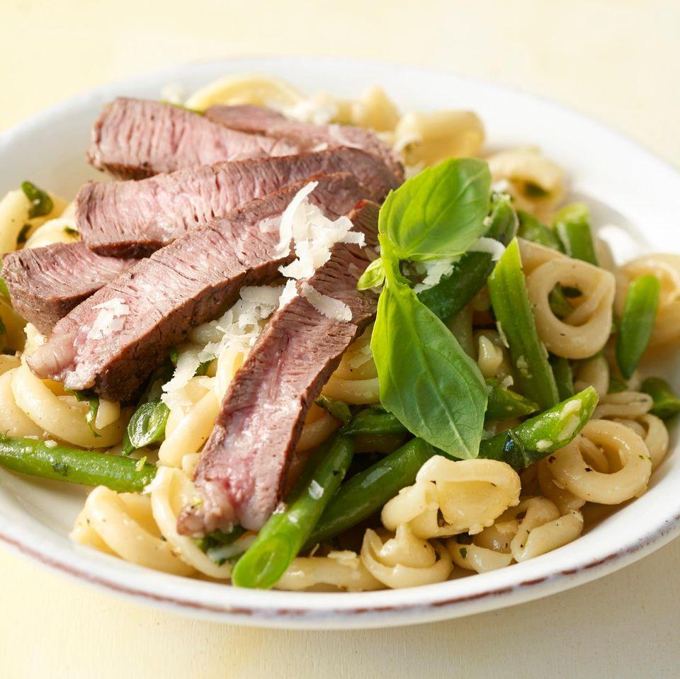 Bohnen-Nudel-Salat