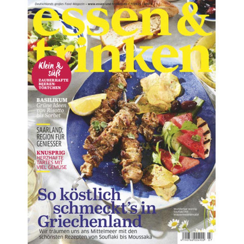 essen & trinken Cover Heft 7/2021