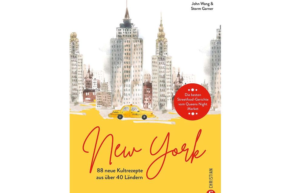 Das Cover vom Buch»New York«.