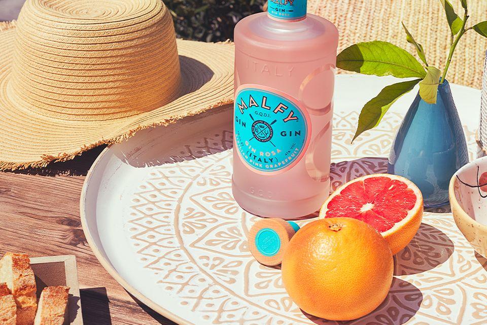 Malfy Gin Rosa mit Grapefruit