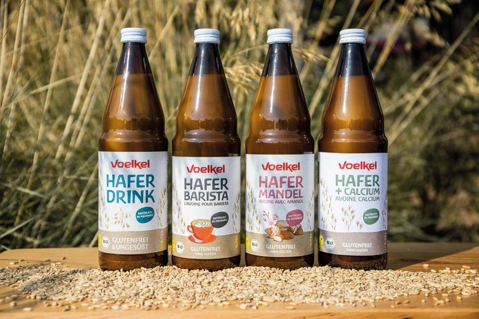 Demeter-Marke Voelkel bietet Haferdrinks ausschließlich Mehrweg-Flaschen an