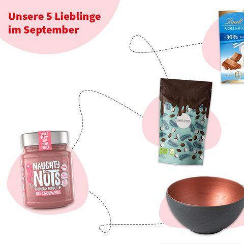 Präsentiert von Chefkoch und »essen & trinken« : Unsere Produkt-Lieblinge im September