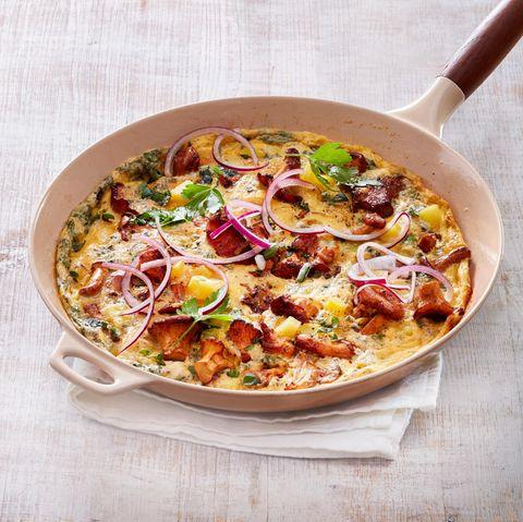 Pfifferlings-Omelette
