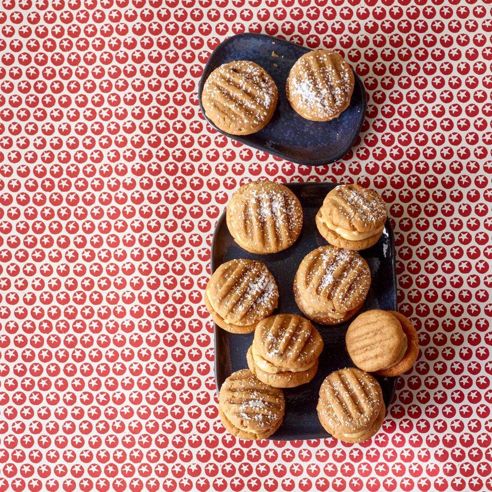 Erdnussbutter-Doppeldecker