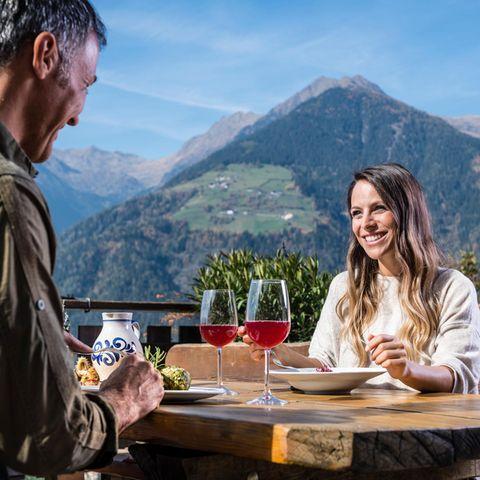 Törggele-Menü im Köstenthalerhof Schenna Südtirol