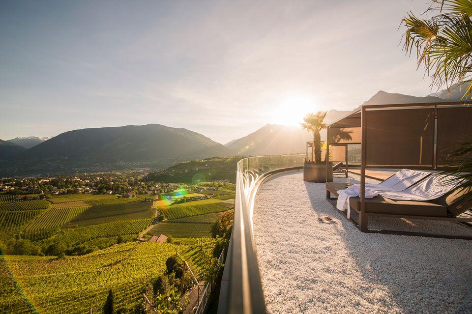 Design-Hotel Eschenlohe in Schenna Südtirol